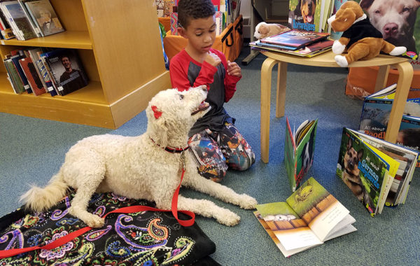 Mill Neck School for the Deaf with Therapy Dogs of Long Island